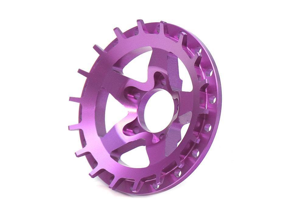 Boom Racing ProBuild™ Alum SS5 Faceplate (1) Purple BRPBF008SS5P