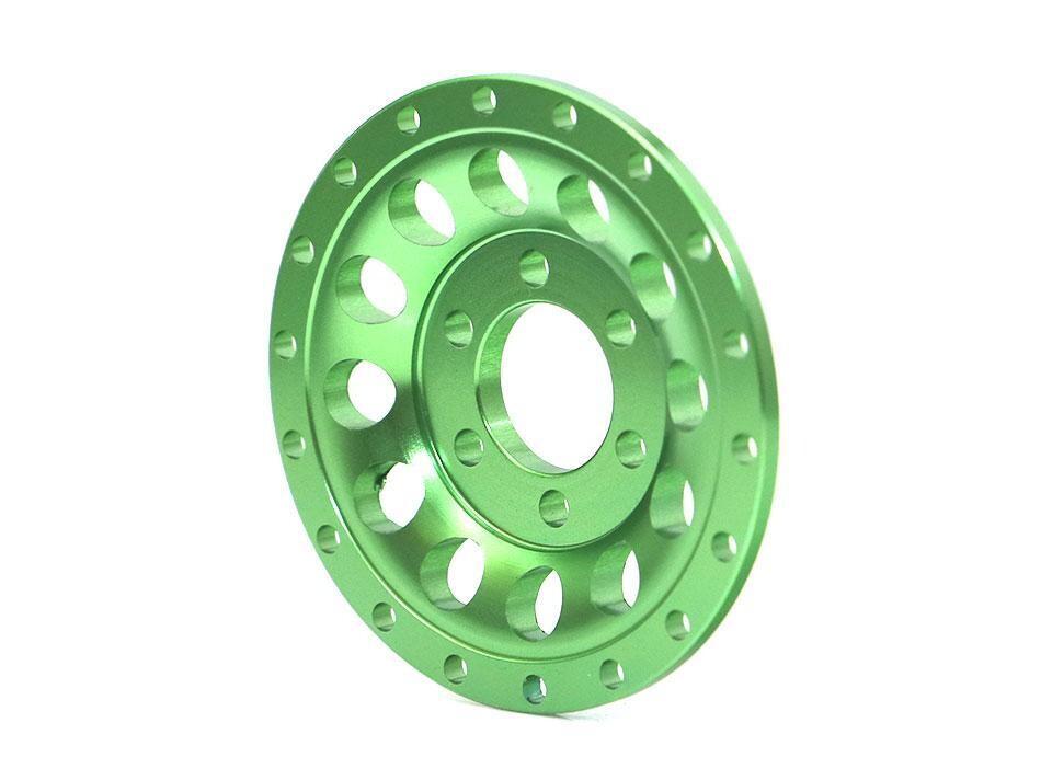 Boom Racing ProBuild™ Alum R12 Faceplate (1) Green BRPBF009R12G