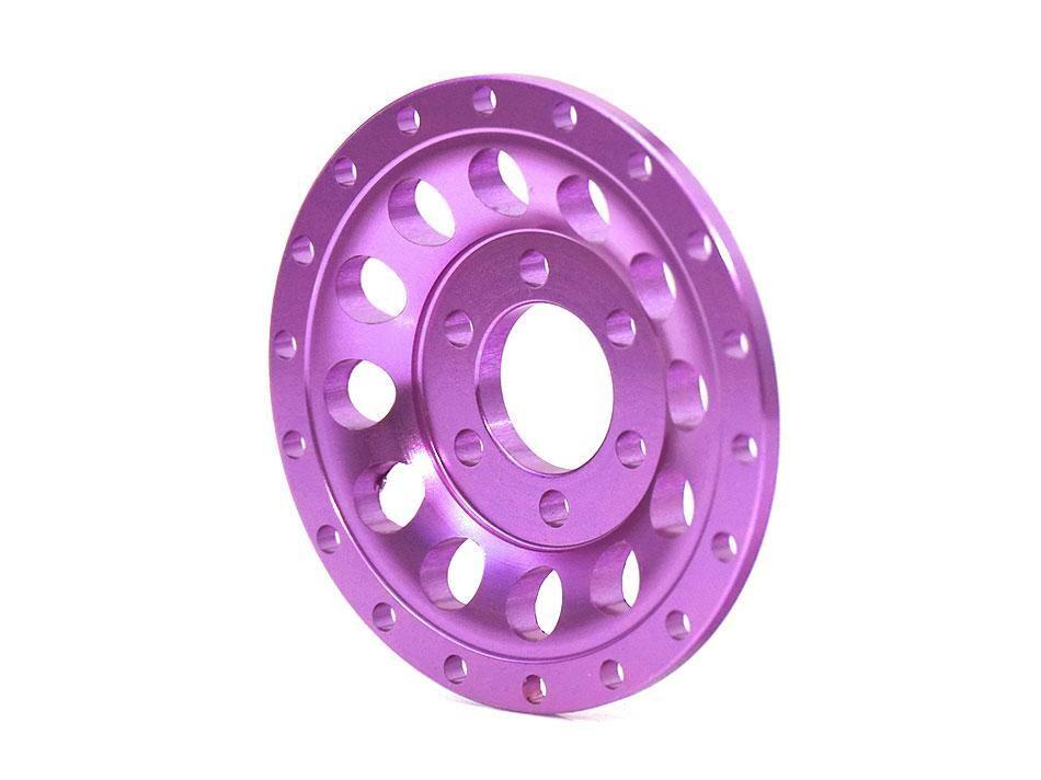 Boom Racing ProBuild™ Alum R12 Faceplate (1) Purple BRPBF009R12P