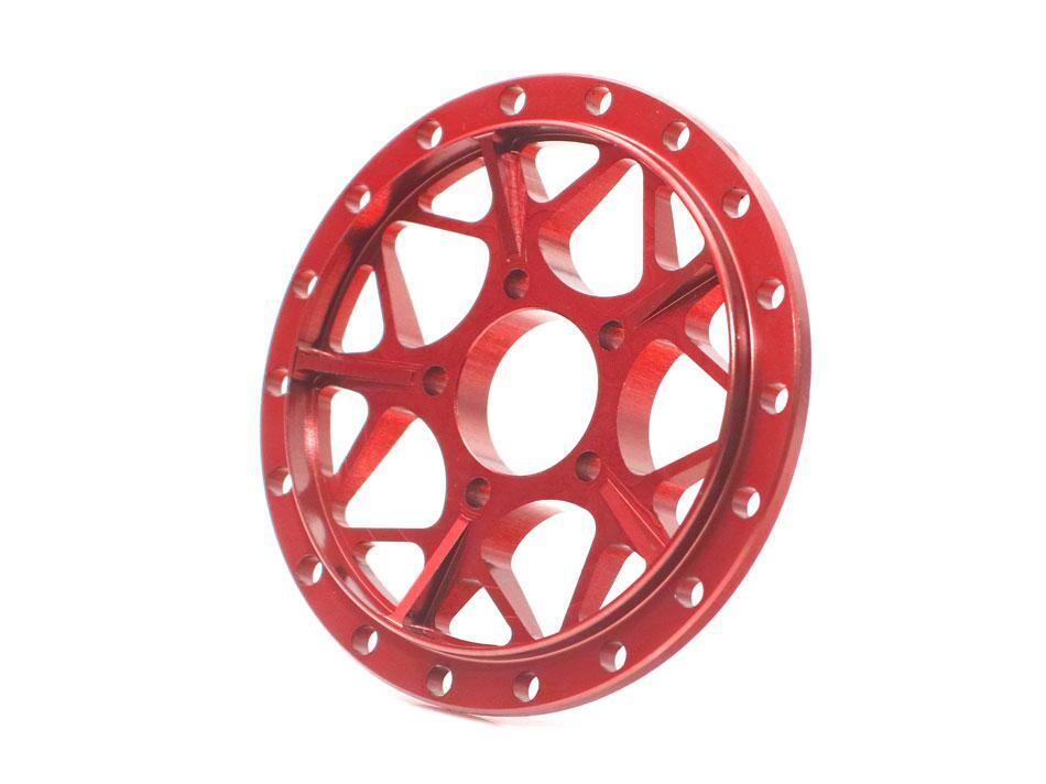 Boom Racing ProBuild™ Alum LGB Faceplate (1) Red BRPBF011LGBR