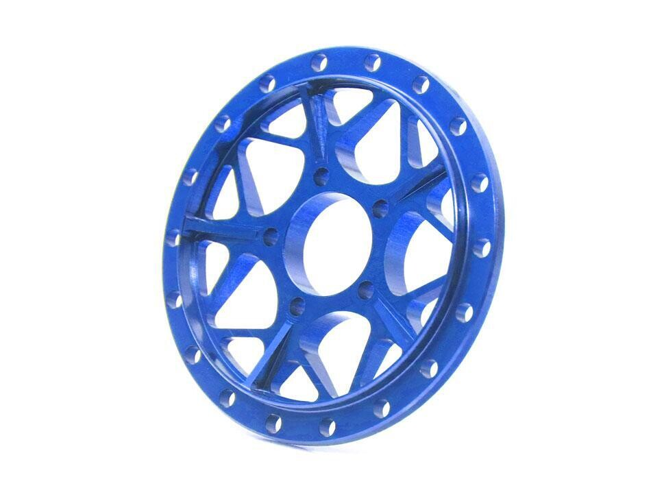 Boom Racing ProBuild™ Alum LGB Faceplate (1) Blue BRPBF011LGBB