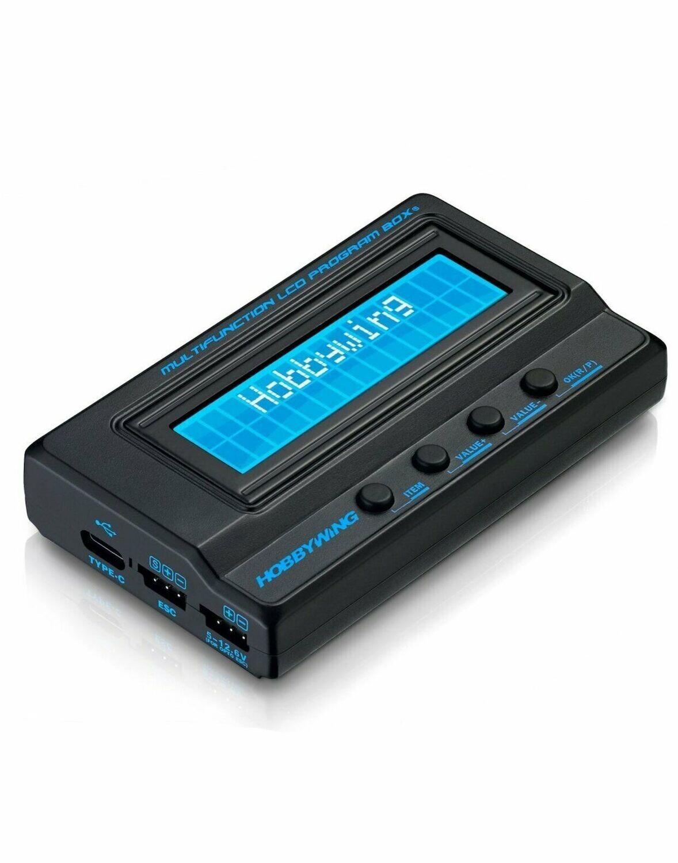 Hobbywing Multifunction LCD Program Box G2 30502000