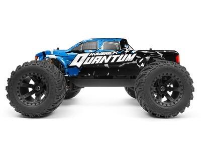 Maverick Quantum MT 1/10 4WD Monster Truck, Ready To Run - Blue MVK150100