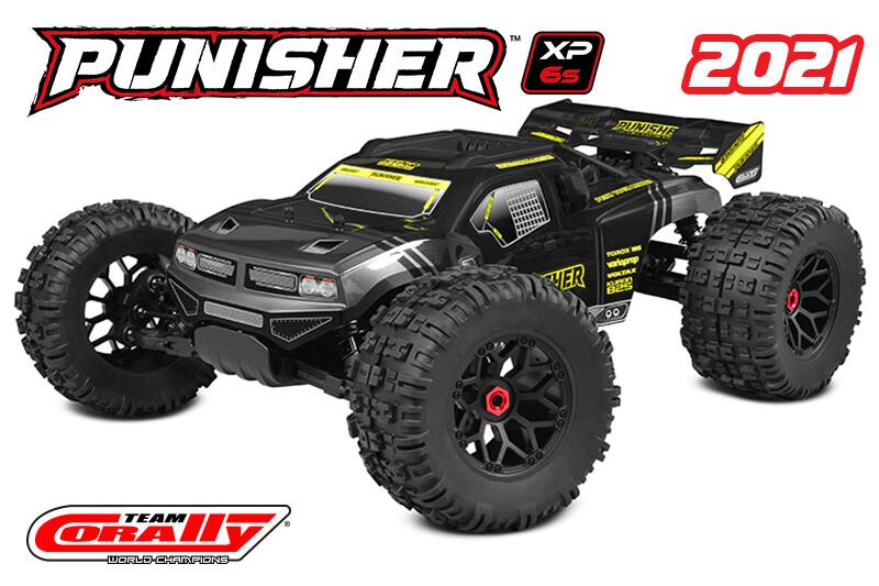 Corally Punisher XP 6S 1/8 Monster Truck LWB RTR Brushless COR00171