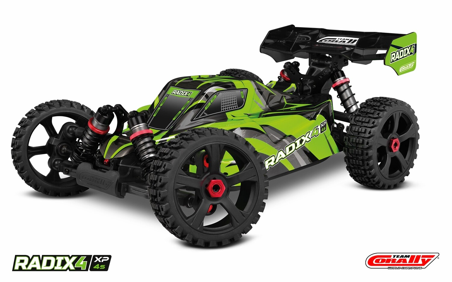 Corally 1/8 Radix4 XP 4WD 4S Brushless RTR Buggy (No Battery or Charger)