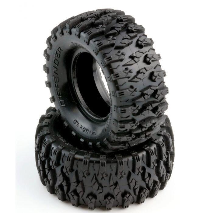 "Powerhobby Defender 1.0"" Micro Crawler Tires (2) PHT3202"