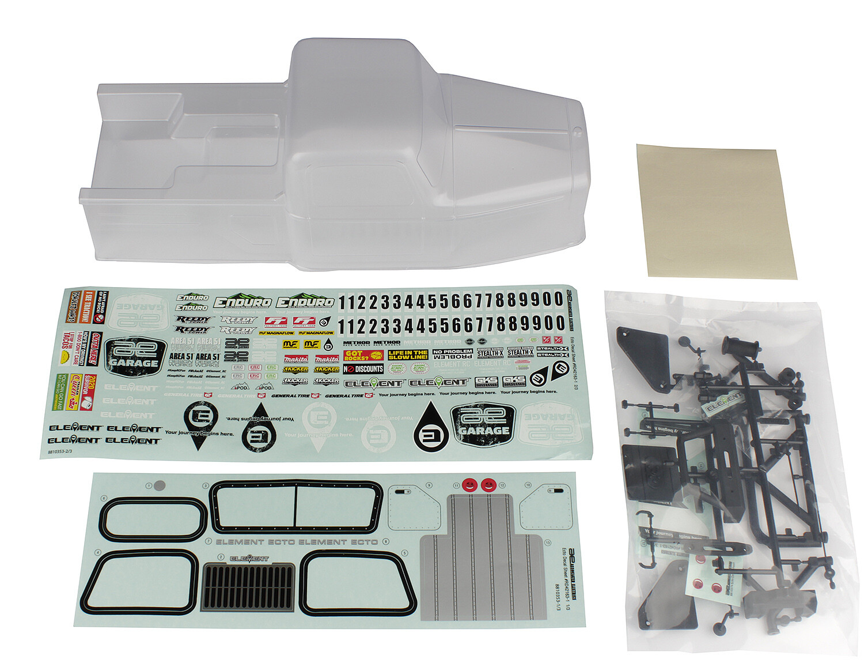 Element Enduro Ecto Body Set, Clear ASC42161