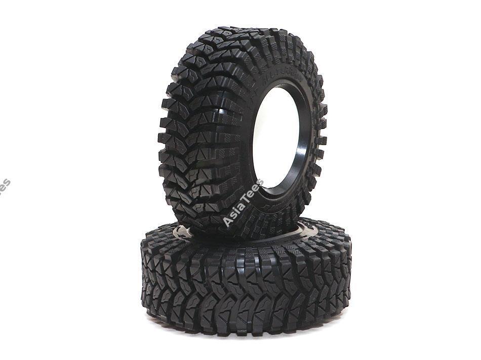 "Boom Racing 1.9"" TPD All-Terrain Crawler Tire Gekko Compound 3.82""x1.3"" (97x33mm) w/ Foam Insert (2) BRTR19008"