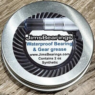Jims Bearing Waterproof Grease 2 oz