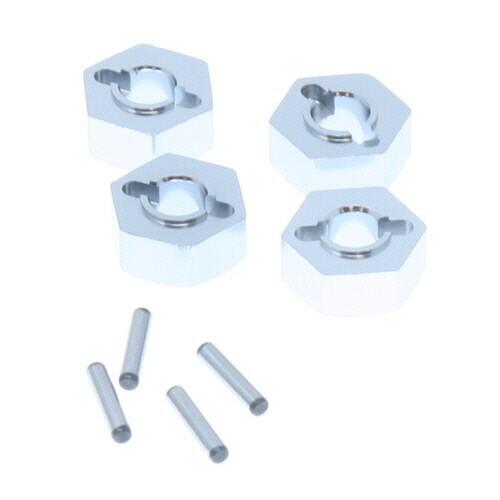 Redcat Aluminum Wheel Hex & Pin (4pcs ea.)  180016S