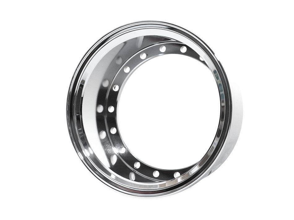 Boom Racing ProBuild™ Extra Wide Alum 19.5mm Wheel Barrel (1) Chrome BRPROB-02EWCR