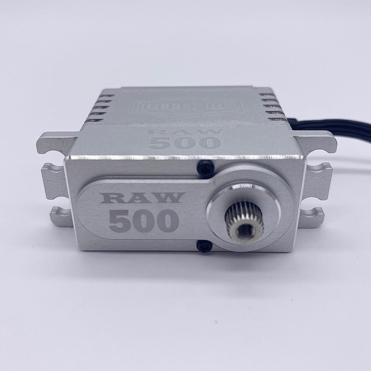 Reefs Raw 500 High Torque High Speed HV Waterproof Brushless Servo .095/500 @7.4V SEHREEFS54