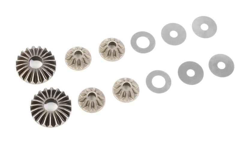 Corally Planetary Differential Gears - Steel - 1 Set: Dementor, Kronos, Python, Shogun COR00180-179