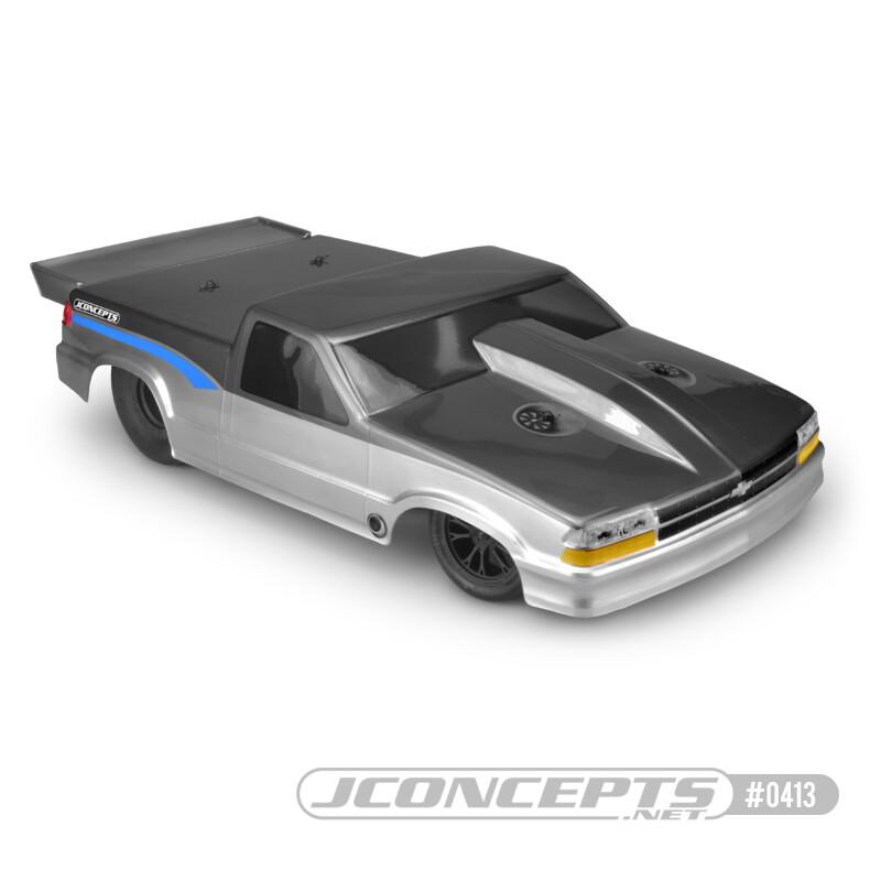 JConcepts 2002 Chevy S10 Drag Truck Street Eliminator Clear Body JCO0413