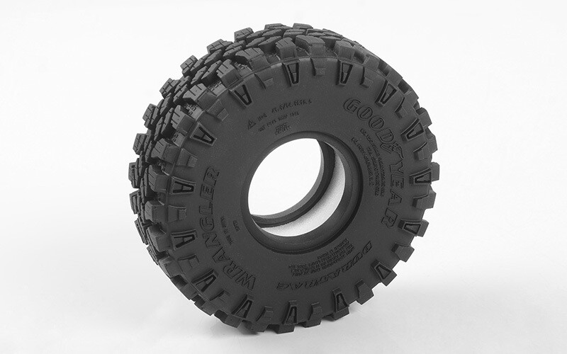 """RC4WD Goodyear Wrangler Duratrac 1.55"""" 4.19"""" Scale Tires RC4ZT0177"""