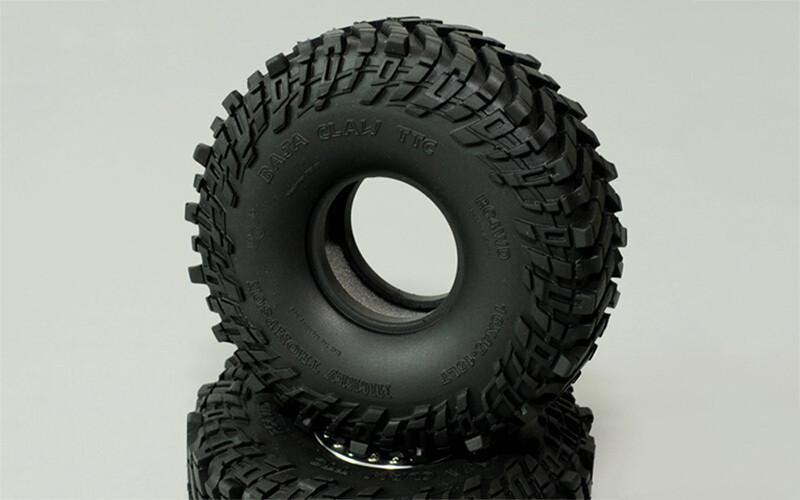 "RC4WD Mickey Thompson 1.55"" Baja Claw TTC Scale Tires RC4ZT0064"