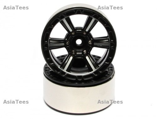 Boom Racing EVO™ 1.9 High Mass Beadlock Aluminum Wheels Splite-6 (2) BRW760923