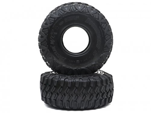"Boom Racing HUSTLER M/T Xtreme 2.2"" RR Rock Racing Tires Snail Slime Compound w/ 2-Stage (Open/Closed) Foams 5.5""x2.0"" (139x51mm) Super Soft BRTR22001"