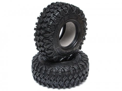 Boom Racing HUSTLER M/T Xtreme 1.9 MC1 Rock Crawling Tires 4.19x1.46 SNAIL SLIME™ Compound W/ 2-Stage Foams (Super Soft) BRTR19000