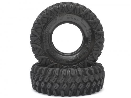 Boom Racing HUSTLER M/T Xtreme 1.9 Rock Crawling Tires 4.45x1.57 SNAIL SLIME™ Compound W/ 2-Stage Foams (Super Soft) BRTR19001-SS