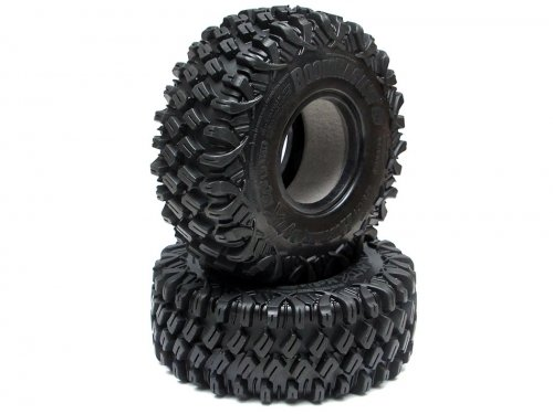 Boom Racing HUSTLER M/T Xtreme 1.9 MC2 Rock Crawling Tires 4.75x1.75 SNAIL SLIME™ Compound W/ 2-Stage Foams (Super Soft) BRTR19002