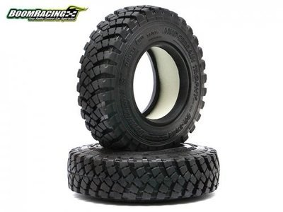 Boom Racing 1.9 Mud Terrain Trophy BR-T29A Tire Gekko Compound 3.6x0.94 Inch (93x24mm) (2) BRTR19393