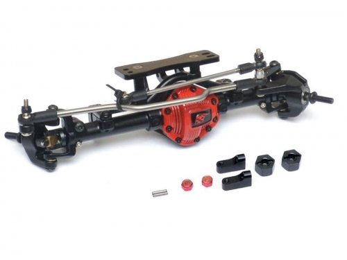 Boom Racing Complete Assembled Scale PHAT Front Axle Version 2 BRQ763060FR