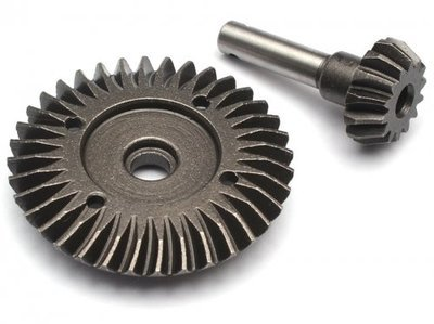 Boom Racing Heavy Duty Bevel Helical Gear Set - 36T/14T Overdrive BR648028