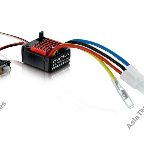 Hobbywing QuicRun Series Brushed Waterproof 60A ESC #WP-1060