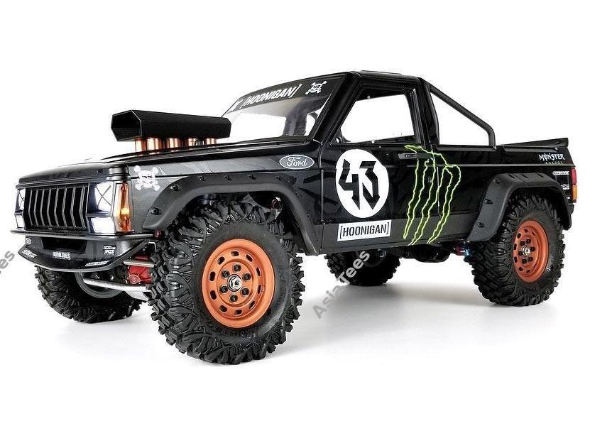 Team Raffee Co. Comanche 1/10 Pickup Truck Hard Plastic Body Kit Set 313mm Cherokee