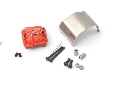 Boom Racing AR44 PHAT™ Axle Diff Cover W/ ARMOUR™ Skid Plate BR955013