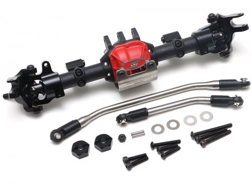 Boom Racing Complete Front Assembled AR44 PHAT™ Axle w/ BADASS Universal Shafts (Prepay/Preorder) BR955022