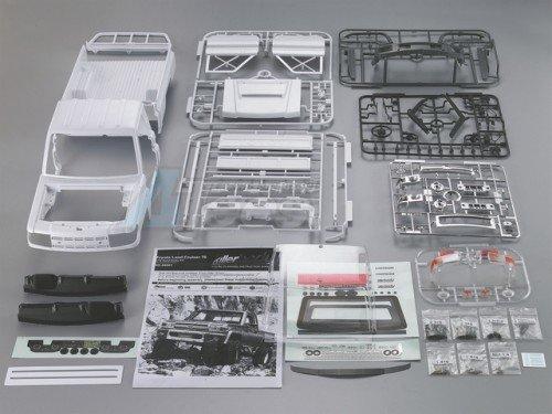 Killerbody 1/10 Toyota Land Cruiser LC70 Hard Body Set 313mm Official Licensed Version 2 48601