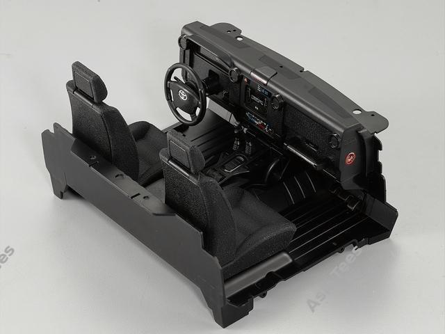 Killerbody Cockpit Interior Set for Toyota Land Cruiser LC70 Hard Body KB/48615