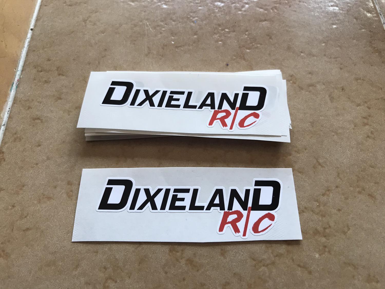 "3"" DixielandRC Sticker"