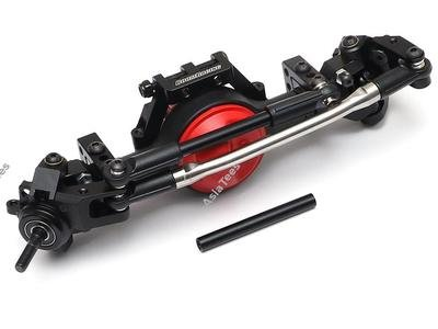 Boom Racing Complete Front Assembled BRX70 PHAT Axle Set w/ AR44 HD Gears (Prepay/Preorder) BRLC7022