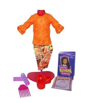 Kenya's Kloset Fashion Fun - Outrageous Orange (Outfit Only)