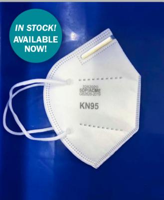 KN95 Respirators, Case Price 300 Respirators per case, ($4.98 each)