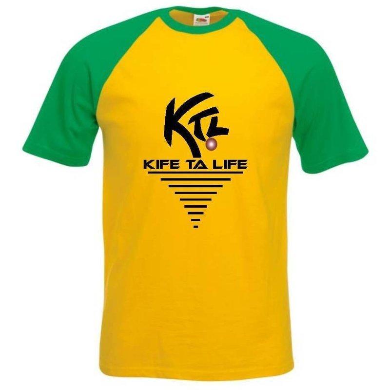 T-shirt Jaune / Vert