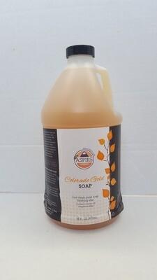Liquid Soap - Colorado Gold Soap, 1/2 gal, Plastic Jug