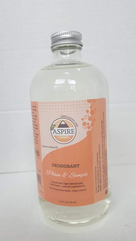 Deodorant Bulk Refill, 16 oz, Glass