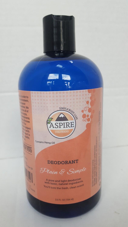Deodorant Bulk Refill, 16 oz, Plastic