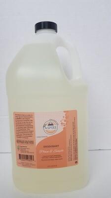 Deodorant Bulk Refill, 1 gal, Plastic