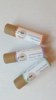 Lip Moisturizer, Cardboard Tube
