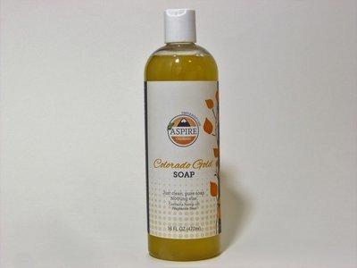 Liquid Soap - Colorado Gold Soap, 16 oz, Plastic Bottle