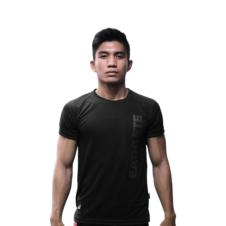 Ladies Premium Microfiber Sports T-shirt Black