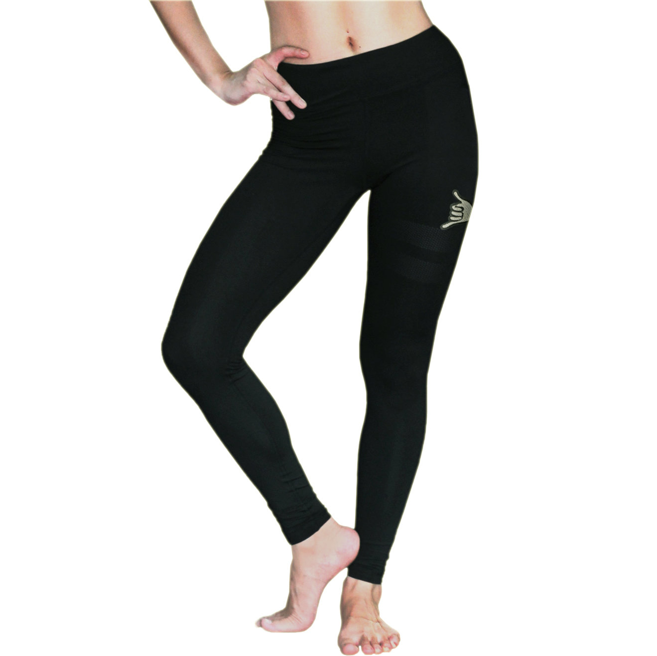 OSS Sports Leggings Black