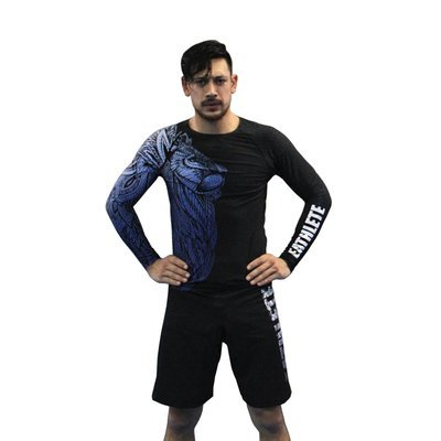 Blue Lion Rash Guard