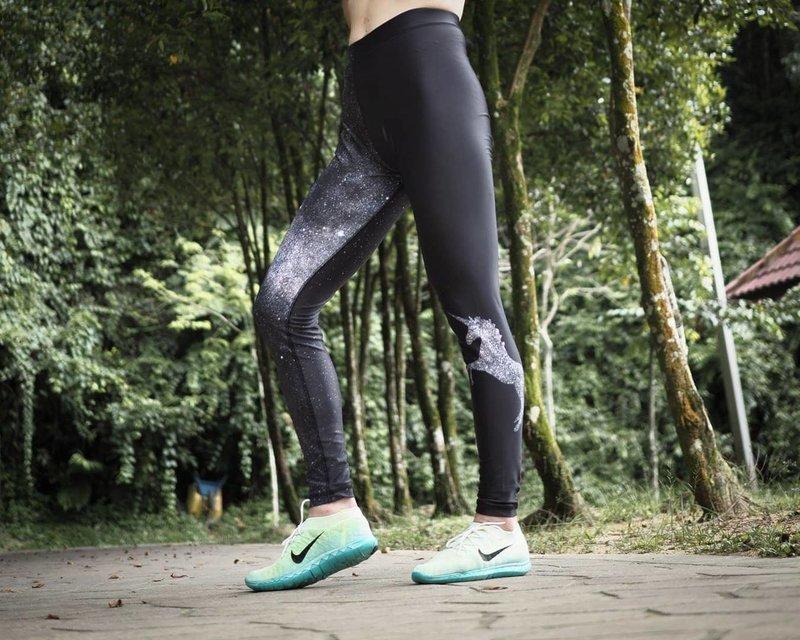 Galaxy FightPro Sports Leggings