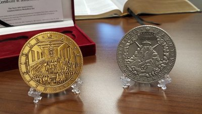 The Dort-400 Anniversary Medallions Set: Minted According to the Specifications of the Original Artifacts Commissioned by the Great Synod.